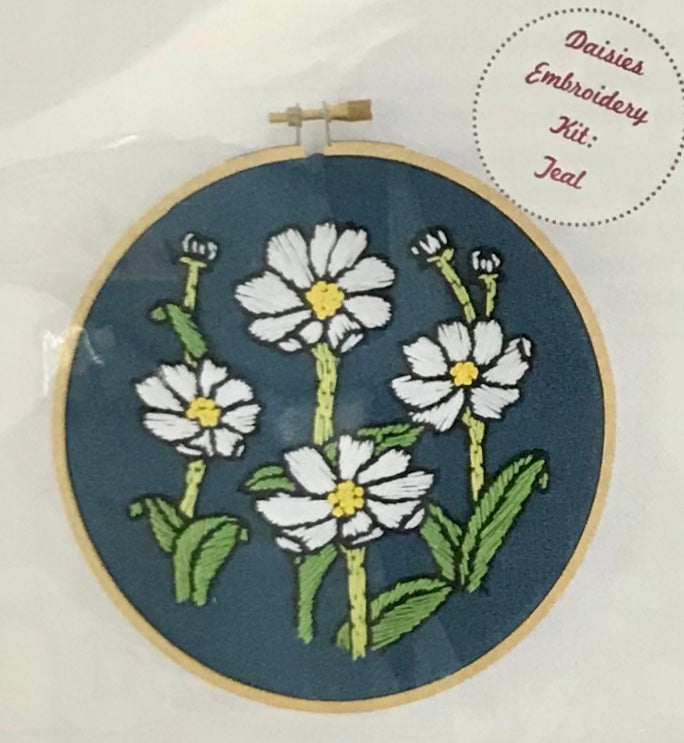 Floral Embroidery Kits
