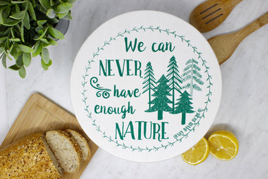 Nature Fabric Bowl Cover
