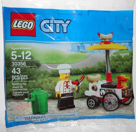 LEGO City Hot Dog Stand Polybag (30356)