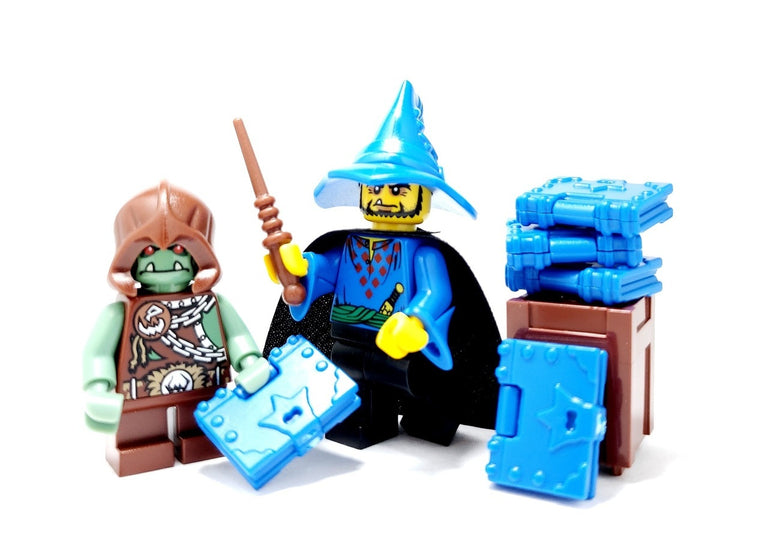 Minifigure Wizards Hat - Brick Warriors