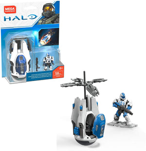Operation Ocean Breaker Drop Pod - HALO Mega Construx Building Set FVK11