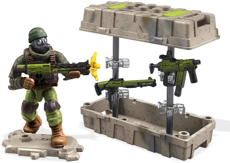Close Quarters Weapon Crate - Mega Construx Call of Duty Set