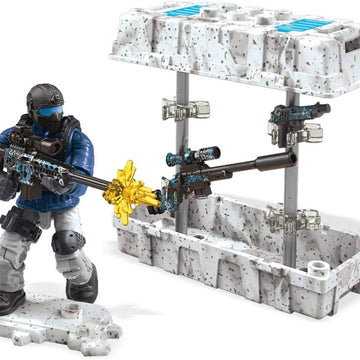 Arctic Sniper Weapon Crate - Mega Construx Call of Duty Set