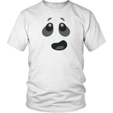 Ghost Minifigure Expression Brick T-Shirt