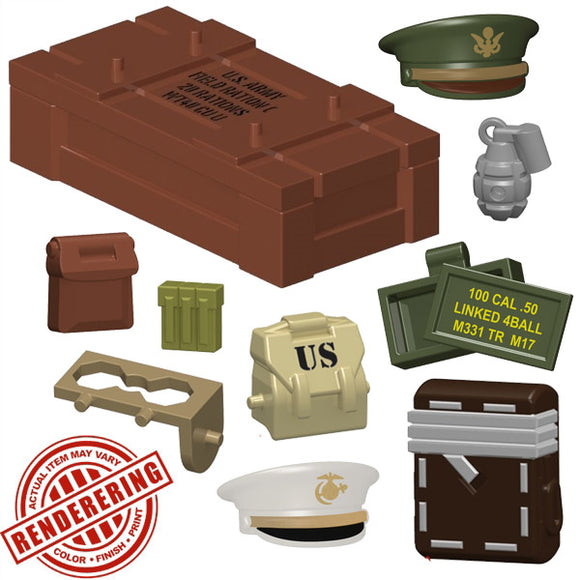 BrickForge WWII Airdrop Minifigure Pack