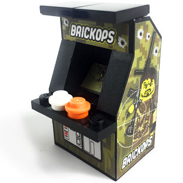 Custom LEGO Brick Ops Arcade Machine