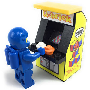 Custom LEGO Q*Brick Arcade Machine