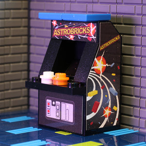 Custom LEGO Astrobricks Arcade Machine