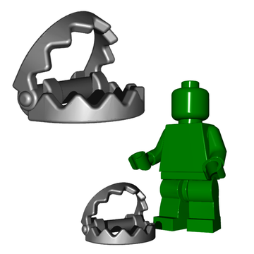 Bear Trap - Fits LEGO Parts