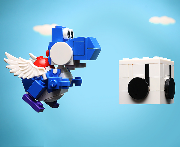 Custom LEGO Blue Dino Power Pack