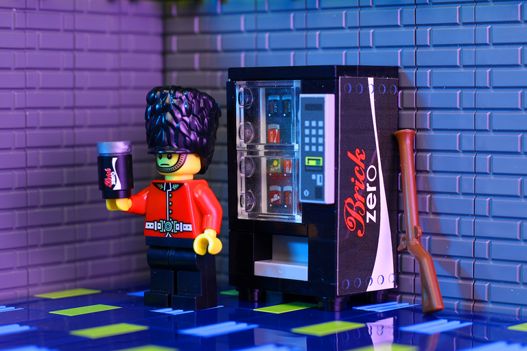 Brick Zero - Custom LEGO Soda Vending Machine