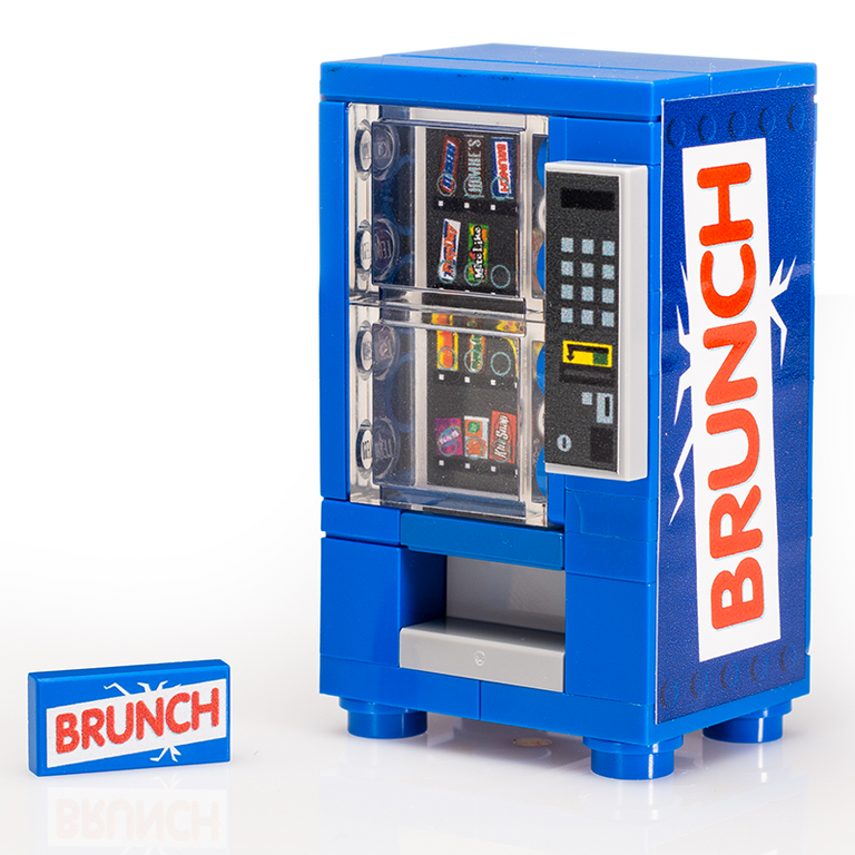 Custom LEGO Brunch Candy Vending Machine
