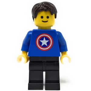 Custom LEGO Captain American Fan (Male)