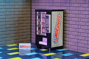3 MOCateers - Custom LEGO Candy Bar Vending Machine
