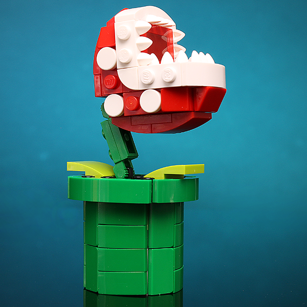 The Hungry Plant - Custom LEGO