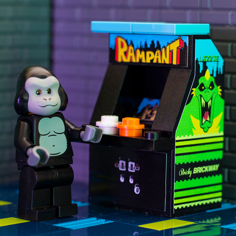 Rampant - Custom LEGO Arcade Machine