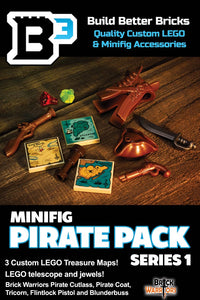 B3 Pirate Minifigure Pack