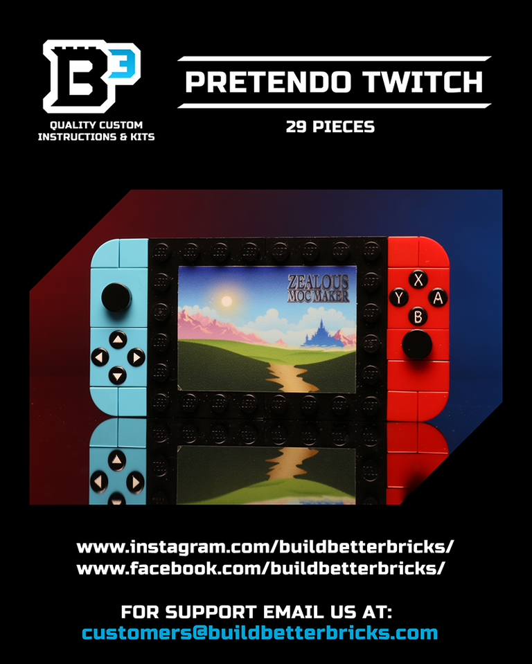 Custom LEGO Pretendo Twitch