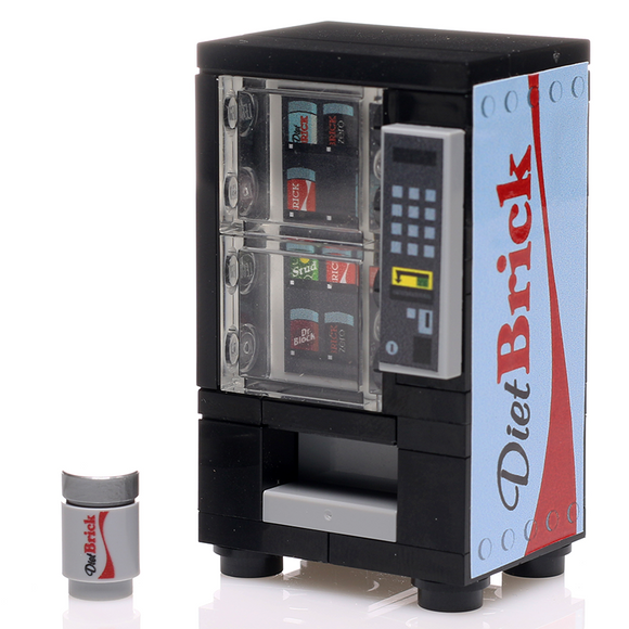 Diet Brick - Custom LEGO Soda Vending Machine
