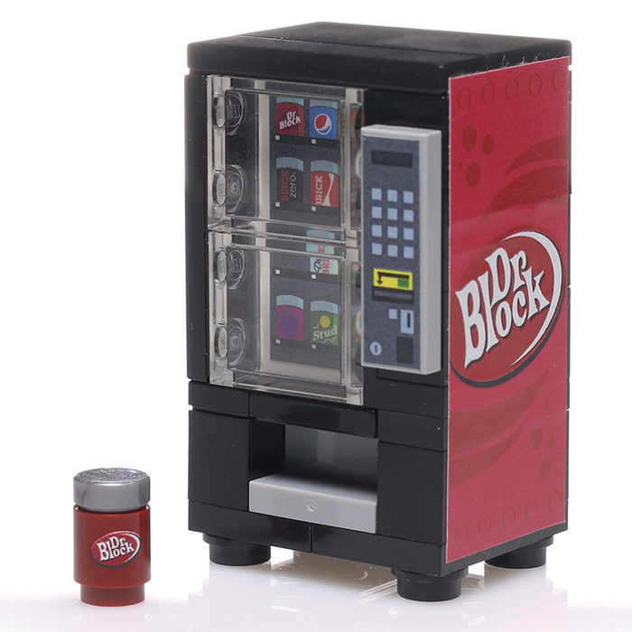 Custom LEGO Dr. Block Soda Vending Machine