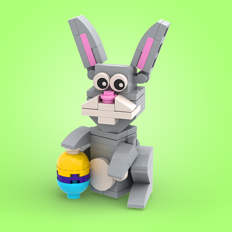 FREE! LEGO Easter Bunny Instructions