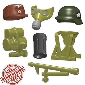 BrickForge WWII Flametrooper Minifigure Pack