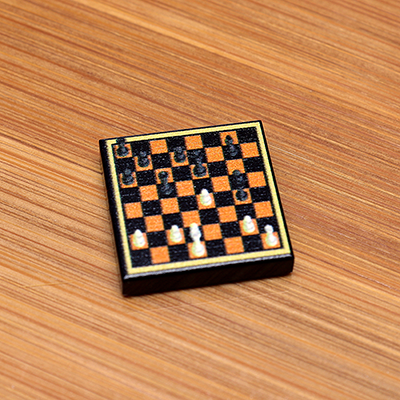 Chess - Custom Printed LEGO 2x2 Tile