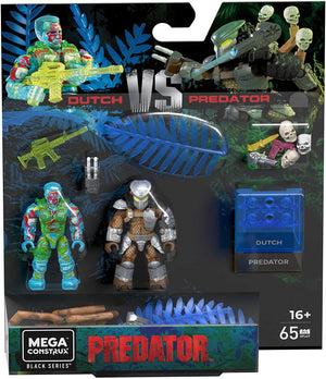 Dutch vs. Predator - Mega Construx Predator Black Series Figure Pack