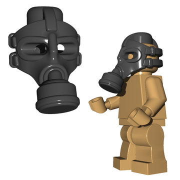 Gas Mask - Brick Warriors