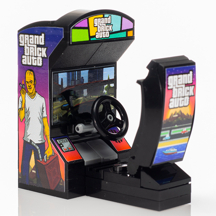 Grand Brick Auto - Custom LEGO Arcade Racing Game