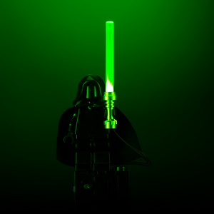 Light-Up Minifigure Lightsaber (Green)