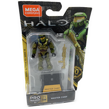 Master Chief - Mega Construx Halo Heroes Series 10 Figure Pack