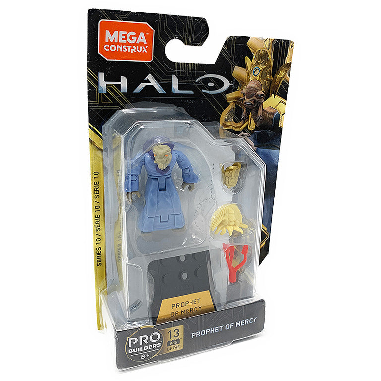 Prophet of Mercy - Mega Construx Halo Heroes Series 10 Figure Pack