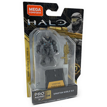 Spartan Noble Six - Mega Construx Halo Heroes Series 10 Figure Pack