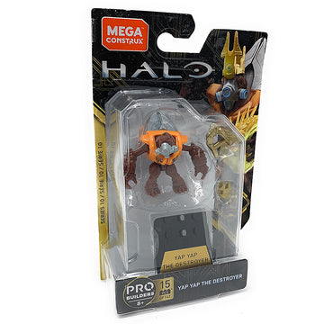 Yap Yap The Destroyer - Mega Construx Halo Heroes Series 10 Figure Pack