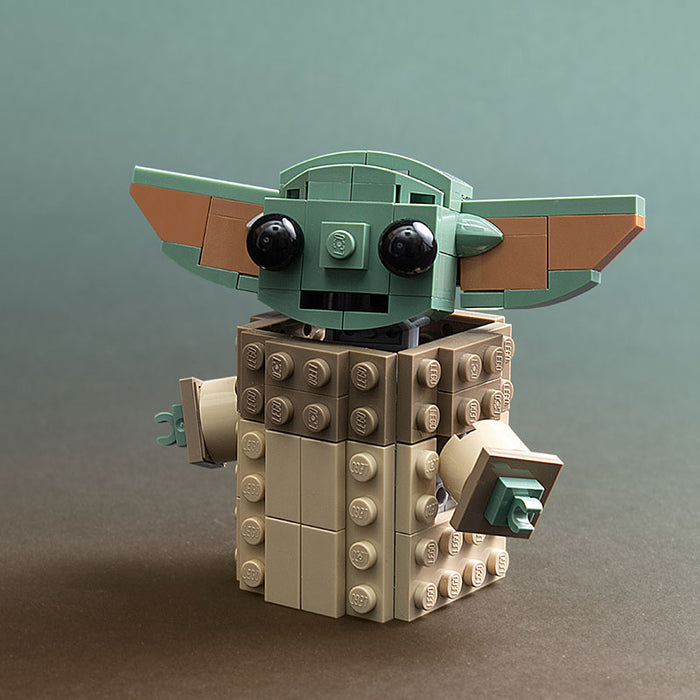 The Child - LEGO Baby Yoda Star Wars Mandalorian Set [CUSTOM MOC]