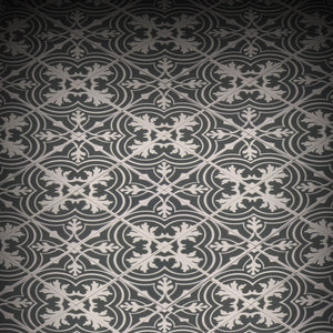 Twenties Classic Encaustic Flooring - Custom Printed LEGO 2x2 Tile