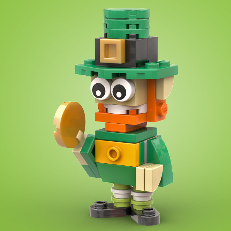 FREE! LEGO St. Patty's Leprechaun Instructions