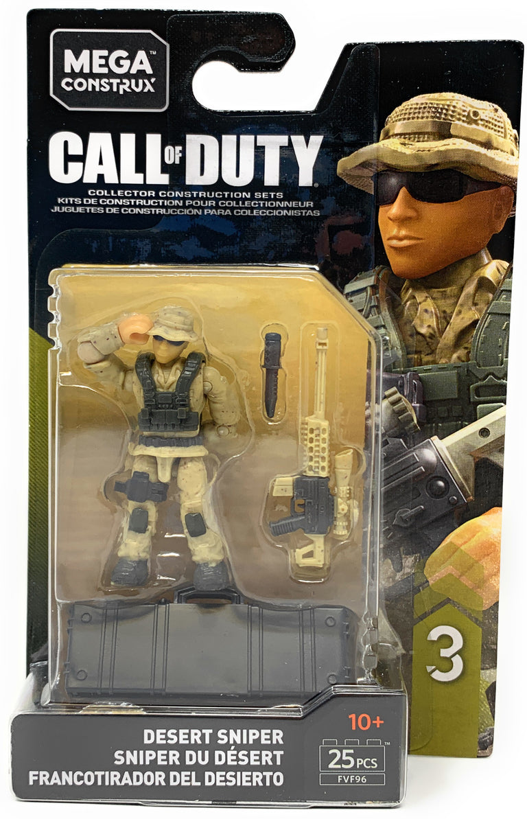 Desert Sniper - Mega Construx Call of Duty Specialist Series 3 Figure Pack