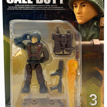 Incendiary Soldier (Flamethrower) - Mega Construx Call of Duty Specialist Figure Pack