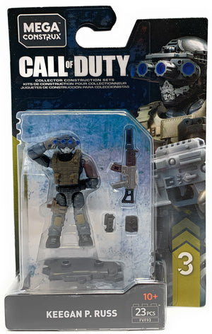 Keegan P. Russ - Mega Construx Call of Duty Specialist Figure Pack
