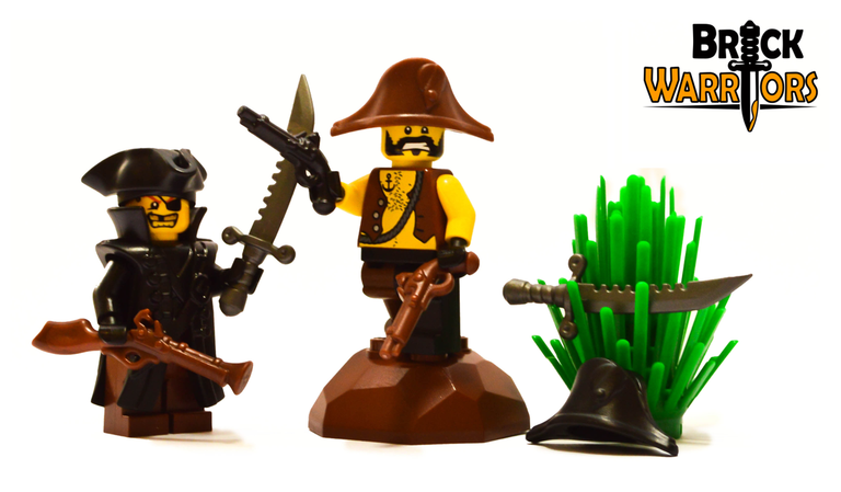 Flintlock Pistol - Brick Warriors