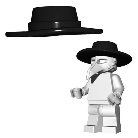 Plague Doctor Hat - Brick Warriors