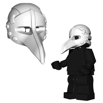Plague Doctor Mask - Brick Warriors