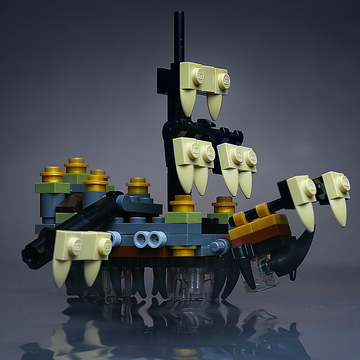 Custom LEGO Mini The Silent Mary Pirate Ship