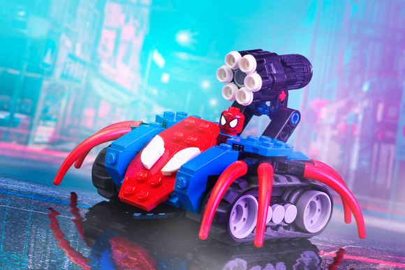 Spider-Tank - Custom LEGO Marvel Spider-Man Building Set