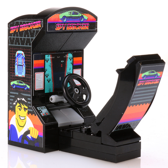 Spy Bricker - Custom LEGO Arcade Racing Game