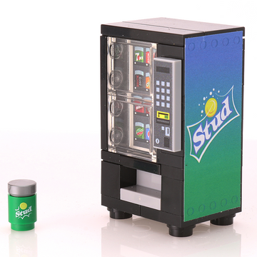 Custom LEGO Stud Soda Vending Machine