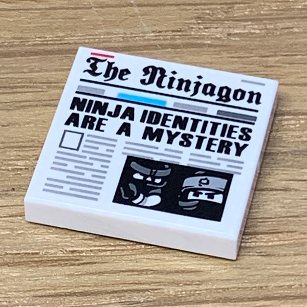 The Ninjagon Newspaper - Official LEGO® Part