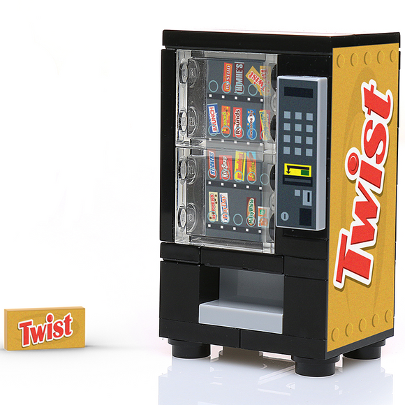 Custom LEGO Twist Candy Vending Machine